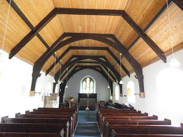St Mary, Greenhow Hill - interior