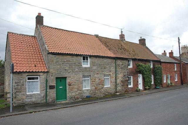 Cottages, Whittingham