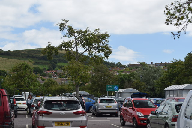 View across Morrisons' car park