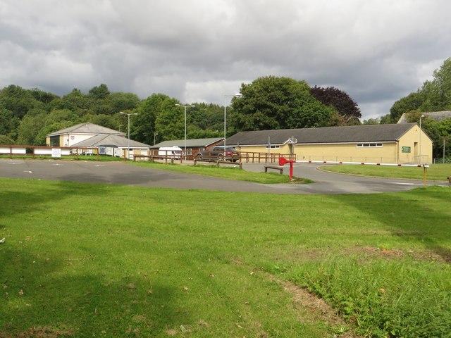 Buildings at Morpeth Rugby Club