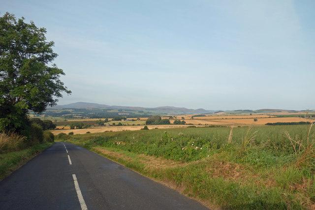 Descending Lyham Hill