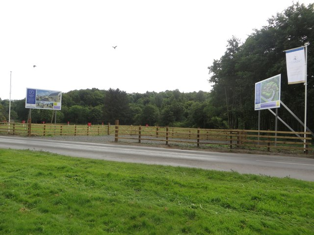 New housing development, Highford Bridge
