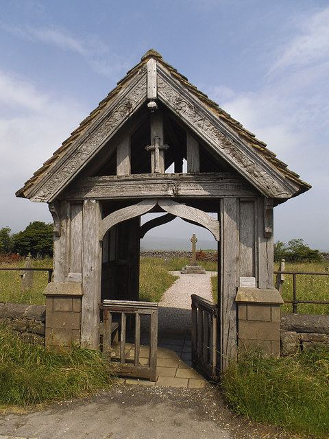 Greenhow Hill cemetery gate