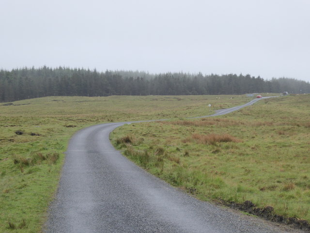 Minor road south of Braehouse