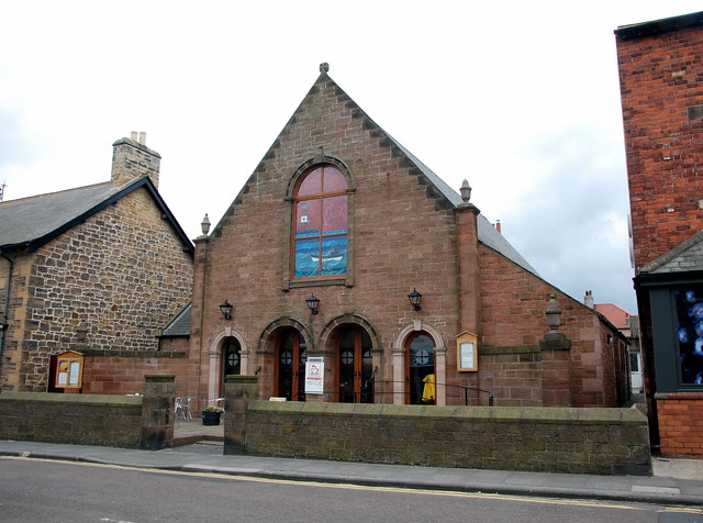 Seahouses Methodist church