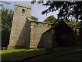 SE1665 : St Mary's old church, Pateley Bridge - south side by Stephen Craven