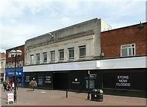 SJ9223 : Store now closed, Gaolgate Street, Stafford by Alan Murray-Rust