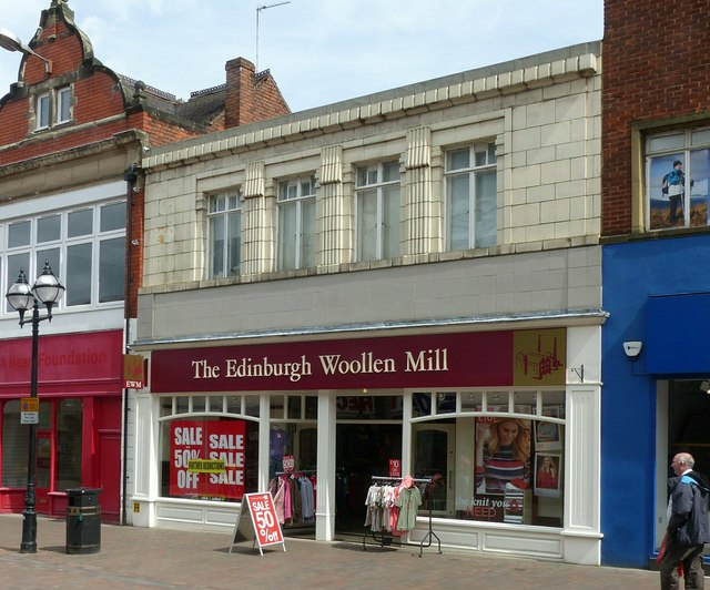 The Edinburgh Woollen Mill shop, Gaolgate, Stafford