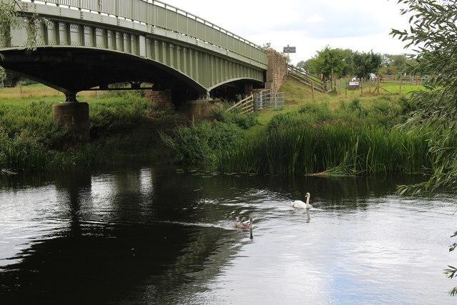 Jubilee Bridge over the River Avon