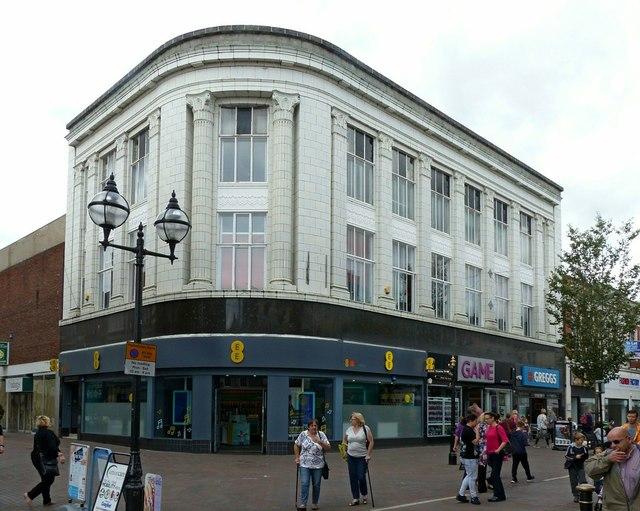 Former Montague Burton (tailors) building, Gaolgate Street