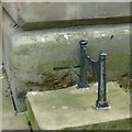 SJ9223 : Bench mark with bolt, Shire Hall, Market Place, Stafford by Alan Murray-Rust