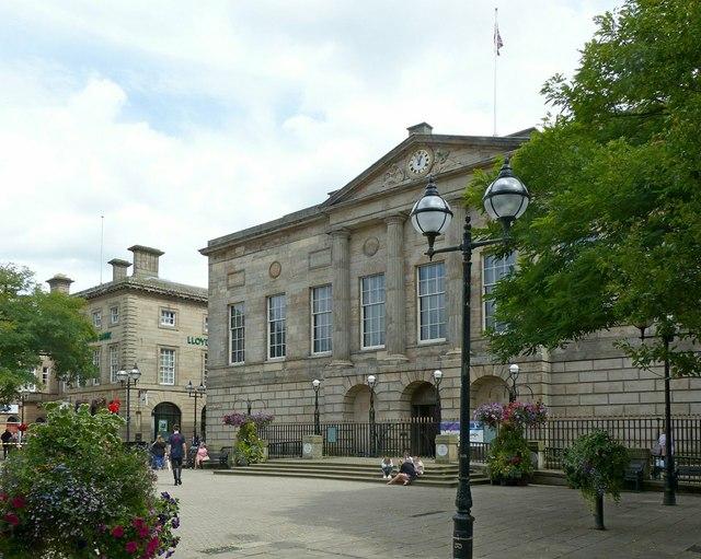 Former Shire Hall, Market Square, Stafford