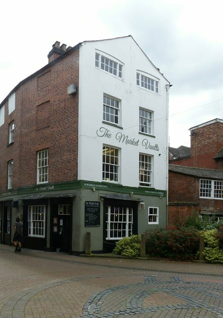The Market Vaults, St Martin's Place, Stafford
