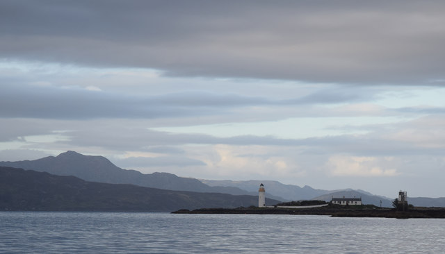 Isle Ornsay light, Skye