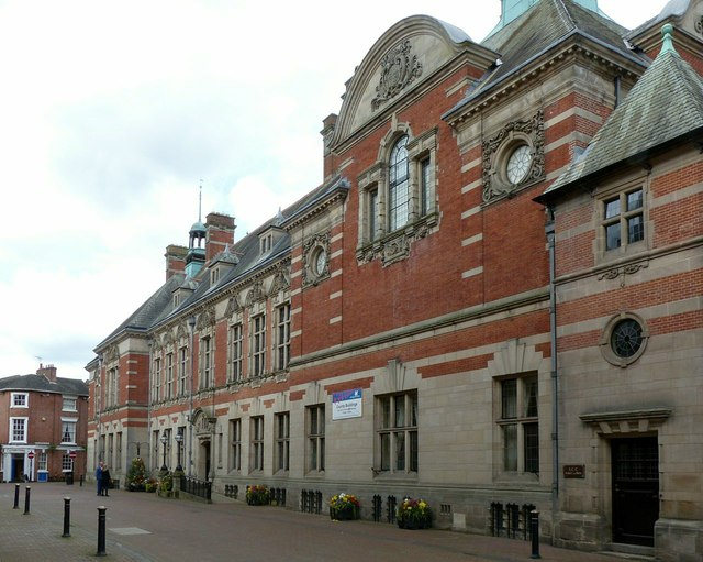County Buildings, Stafford