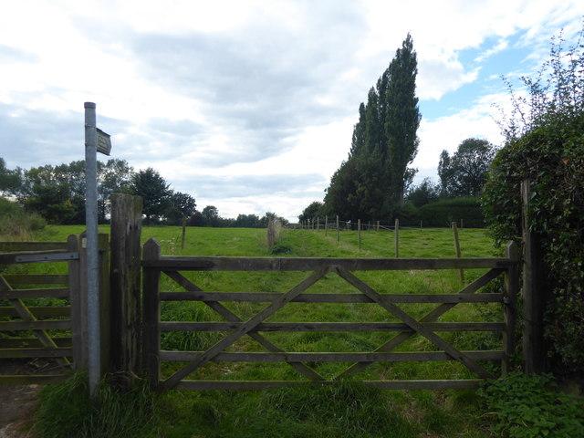 Footpath from Church Walk