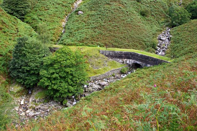 Thirlmere Aqueduct crosses Greenhead Gill