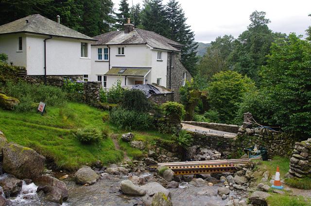 Bridge repairs, Greenhead Gill