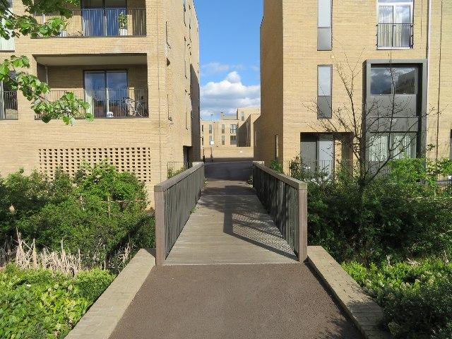 Footbridge off Lime Avenue