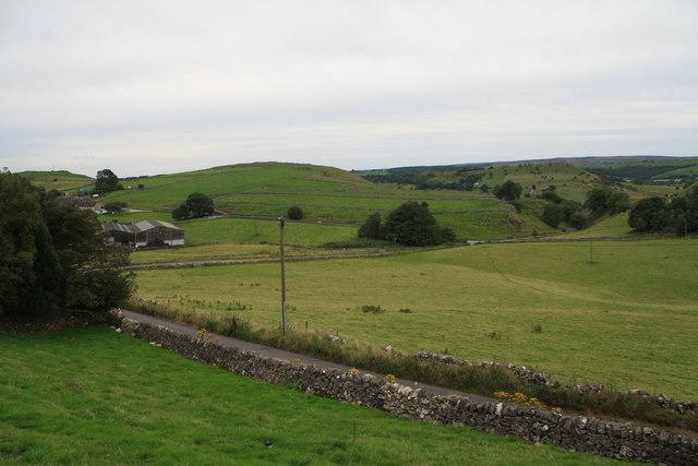 View from near Jericho Farm
