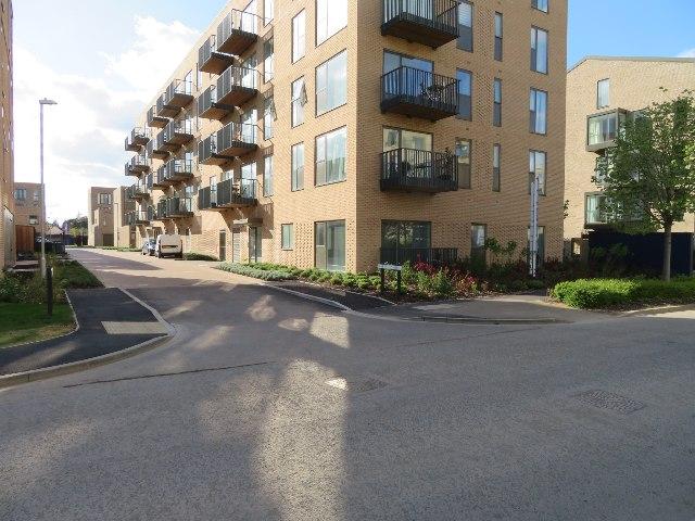 View along Nine Wells Road