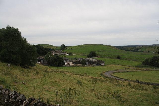 Farm at Fernydale from near Jericho Farm