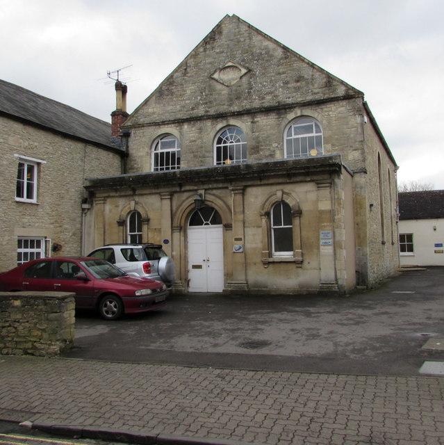 Grade II listed Barton Hall, Gloucester Street, Cirencester