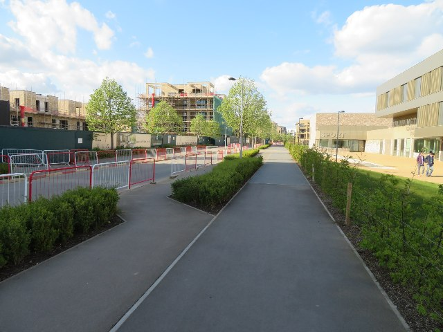 View along Lime Avenue