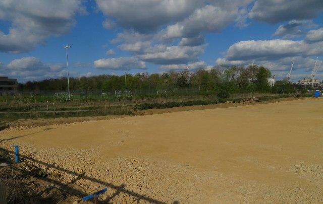 Sports field - Trumpington Community College