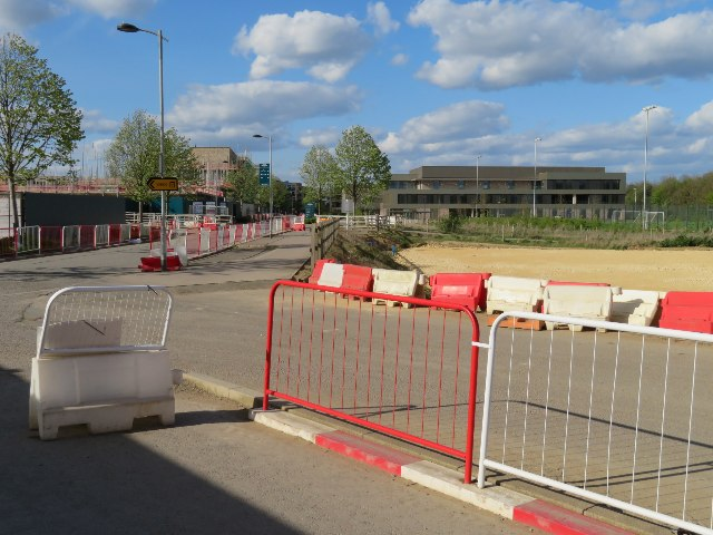 Access road for Hobson Square