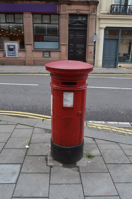 Victorian Postbox, High St