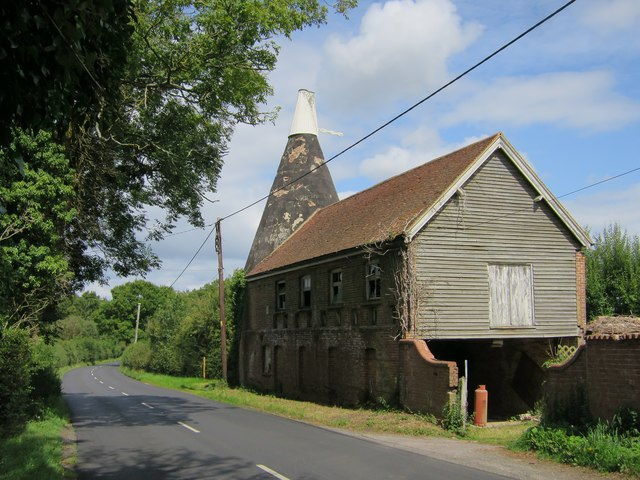 Oast House at Hobby Hobbs Farm, Staplecross