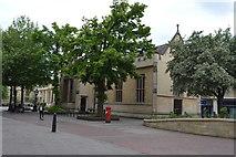 TL0449 : Façade of former Bedford Modern School by N Chadwick