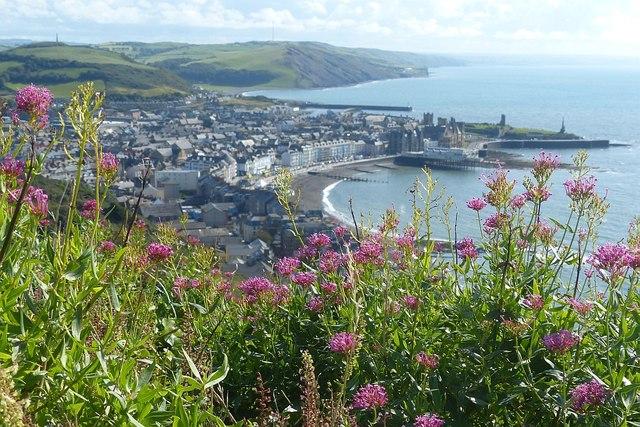 Overlooking Aberystwyth
