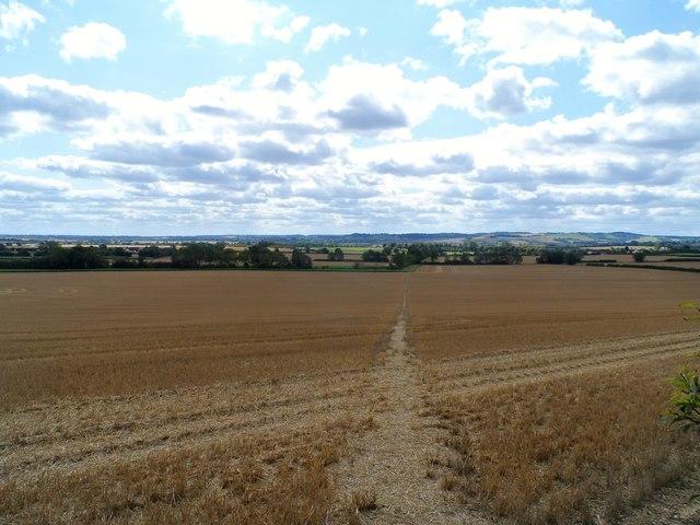 Footpath near Shillington