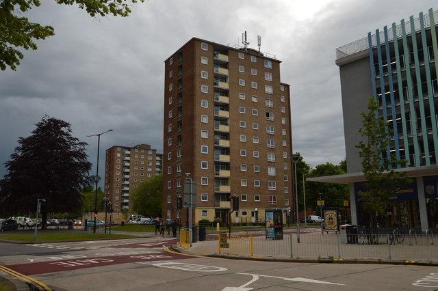 Towerblock, Bedford