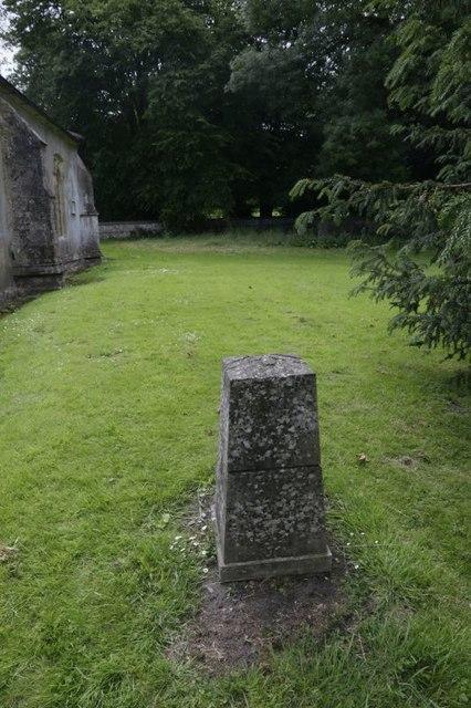 Plinth in the Churchyard