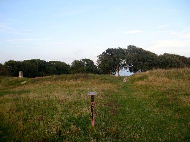 Hill Fort, Highdown Hill