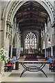 TF2569 : Chancel, St Mary's church, Horncastle by Julian P Guffogg
