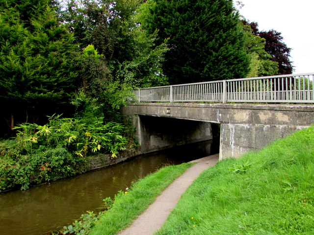 South side of canal bridge 104, Gilwern