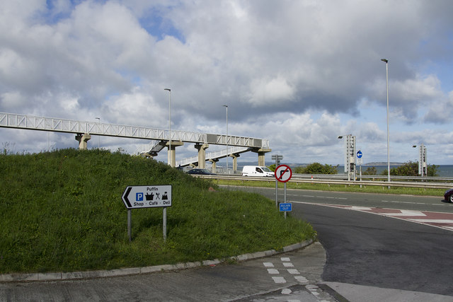 A55 footbridge