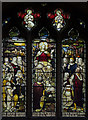 TF2569 : Stained glass window, St Mary's church, Horncastle by Julian P Guffogg