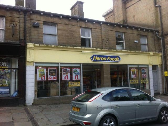 Heron Foods, High Street, Glossop