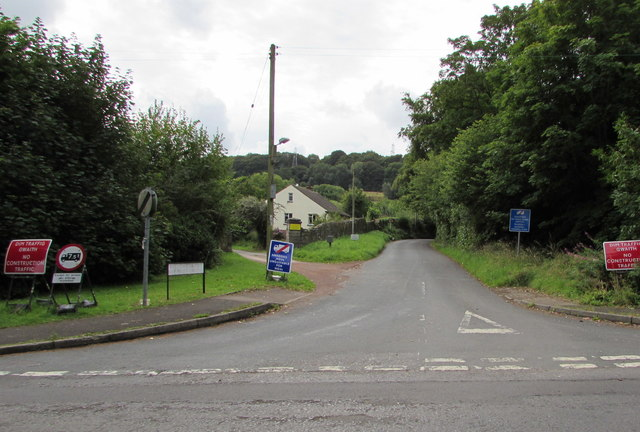 Maesygwartha Road, Gilwern