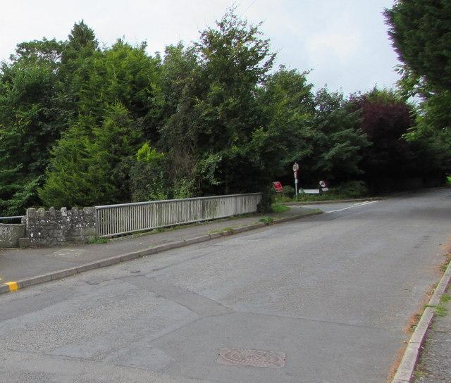 Church Road canal bridge, Gilwern