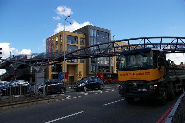 North Circular Road at the junction of Bowes Road and Telford Road