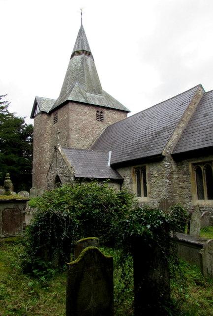Parish Church of St Elli, Llanelly, Monmouthshire