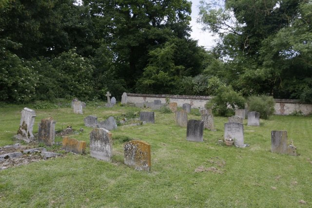 Far end of the Churchyard