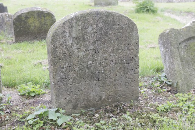 Very Old headstone
