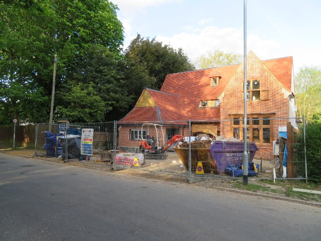New house on Newton Road